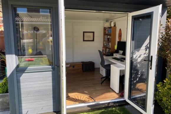 Composite Garden Office Brighton