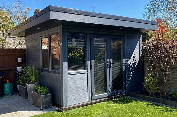 High Performance Composite Garden Rooms Brighton